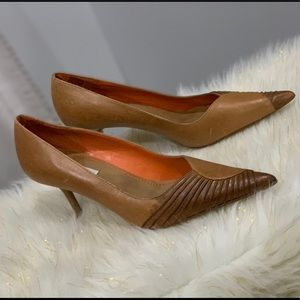 Steve Madden the Corine brown leather shoe 8.5